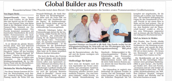 Global Builder in Pressath